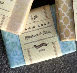 Lavender & Citrus Farm Soap