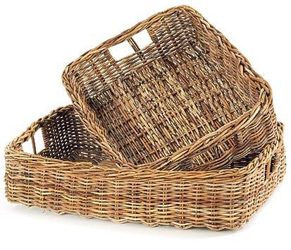 Pair of Storage Baskets