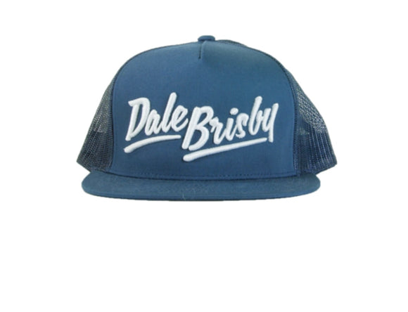 Navy,Mesh-Back Dale Brisby Snapback
