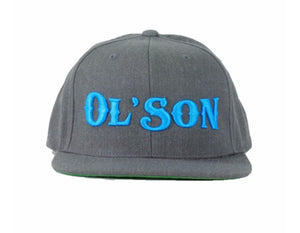 OL'SON Dark Heather Snapback