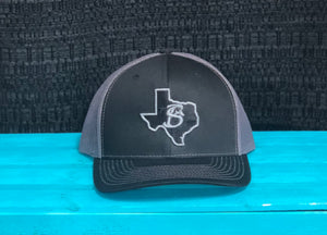 Black & Grey Texas with SB Logo