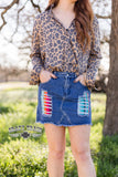LOLLIPOP SKIRT ** SERAPE