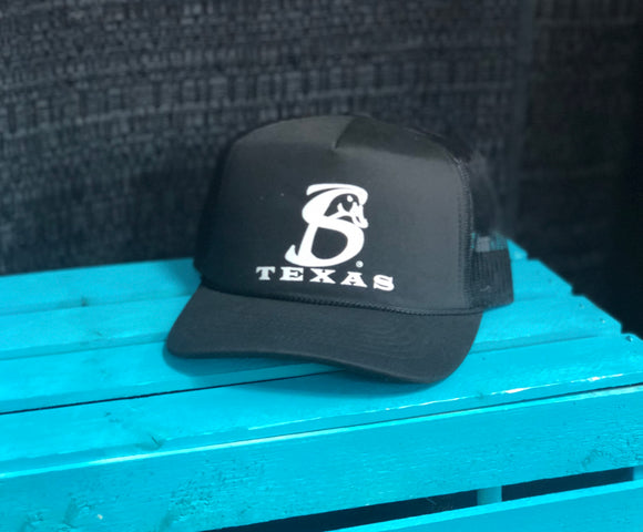 Texas with SB Logo * Black*
