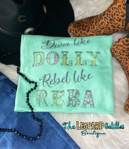 Diva like DOLLY Rebel like REBA