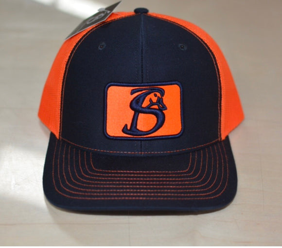 Stackin Bills Navy/Orange Logo
