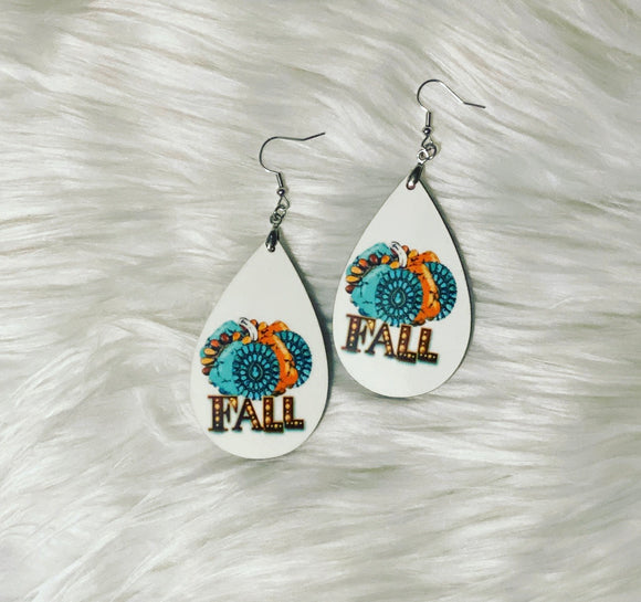 Fall *Pumpkin* Earrings