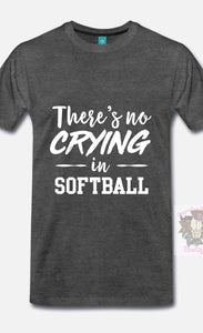 There's no Crying in Softball