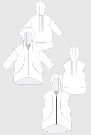 Hove jacket pattern