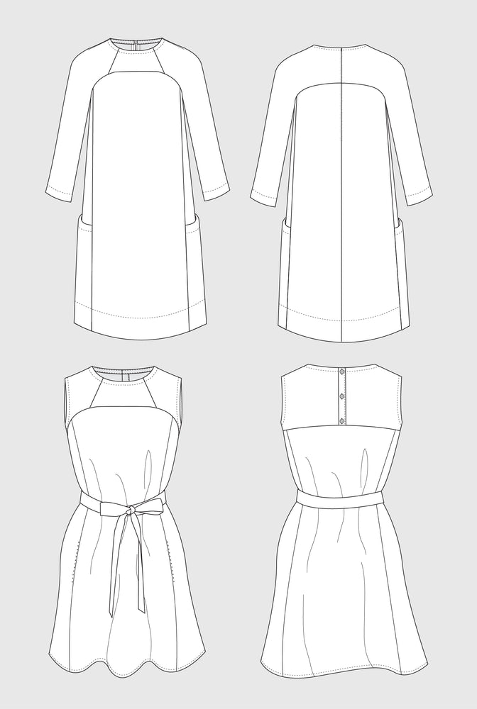 Rushcutter dress pattern