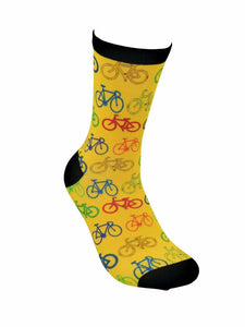 funky socks bicycle Bamboo Socks - Stock Socks Official