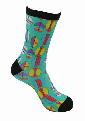 funky socks surfing surfboards Bamboo Socks - Stock Socks Official