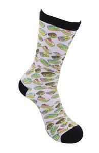 funky socks simpsons doughnuts hommer Bamboo Socks - Stock Socks Official