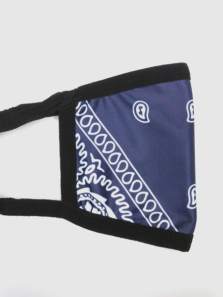 Navy Blue bandana mask