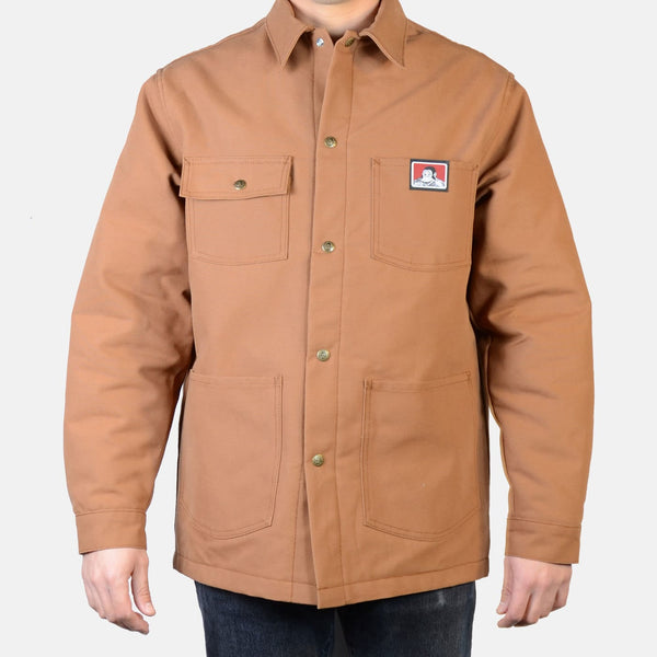 Ben Davis Chore Coat -- brown duck