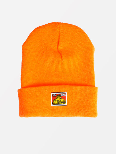 Gorilla Beanie -- orange