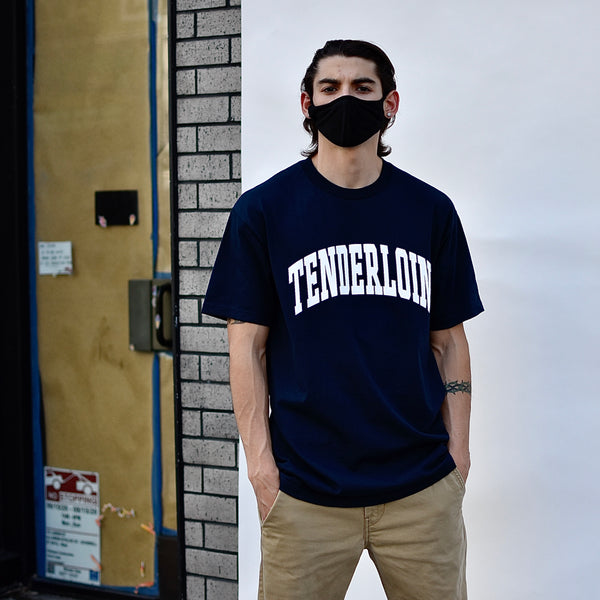 Tenderloin New Collegiate T-Shirt -- navy