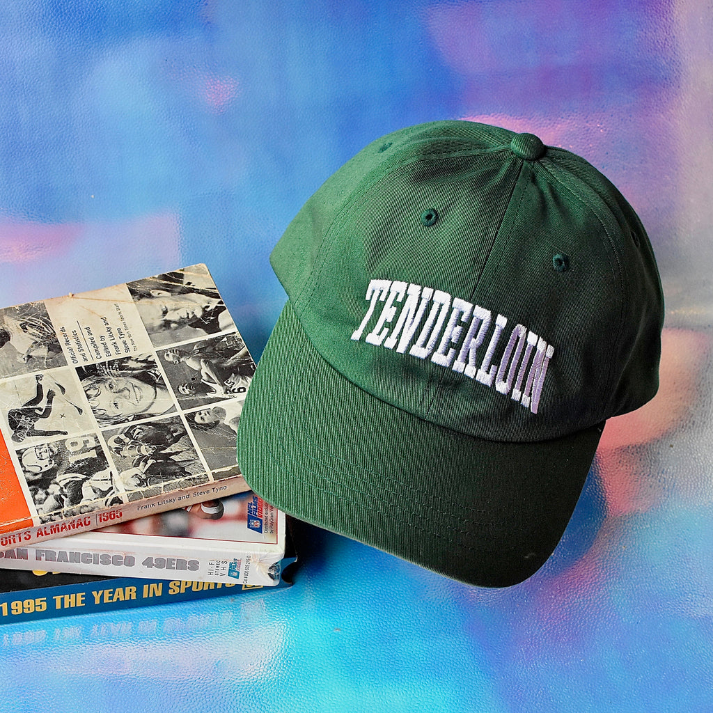 Tenderloin Arch Dad Hat -- green