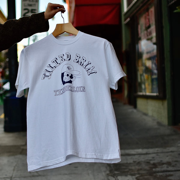 Seal T-Shirt -- white/blue