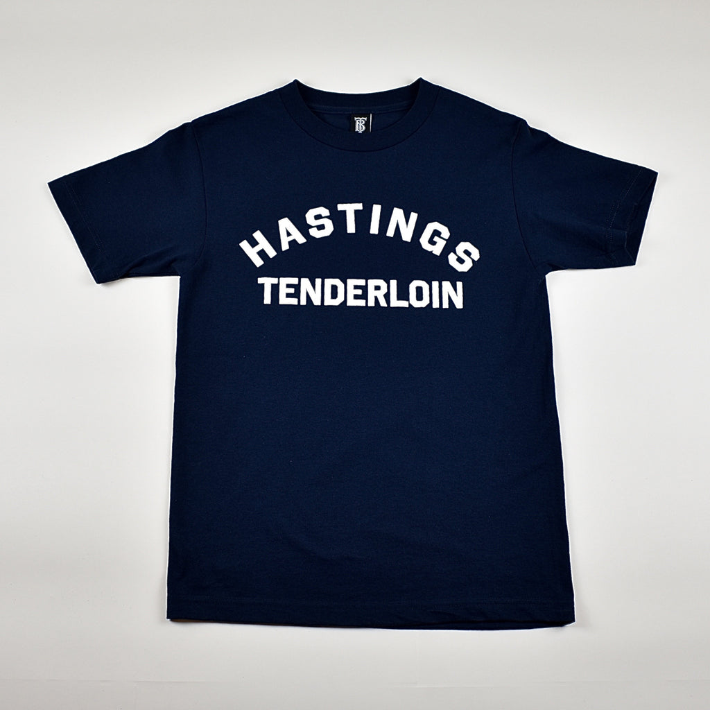 Tilted Brim for UC Hastings T-Shirt -- navy