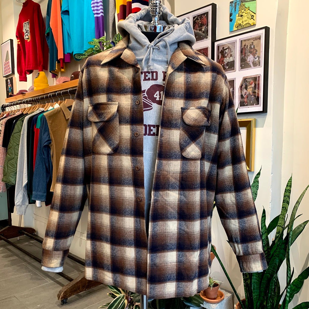 Vintage: Wolverine Brown Pendleton Board Shirt
