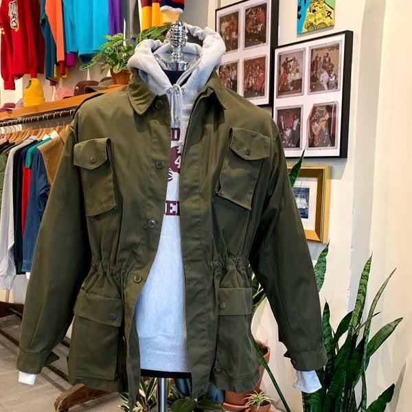Vintage: Deadstock Italian Military Field Coat