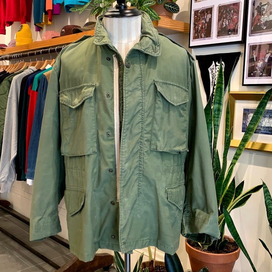 Vintage: 1960's M-65 Field Coat — thrashed!
