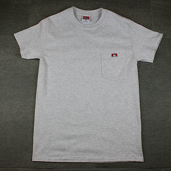 Gorilla Logo Pocket T-Shirt -- ash
