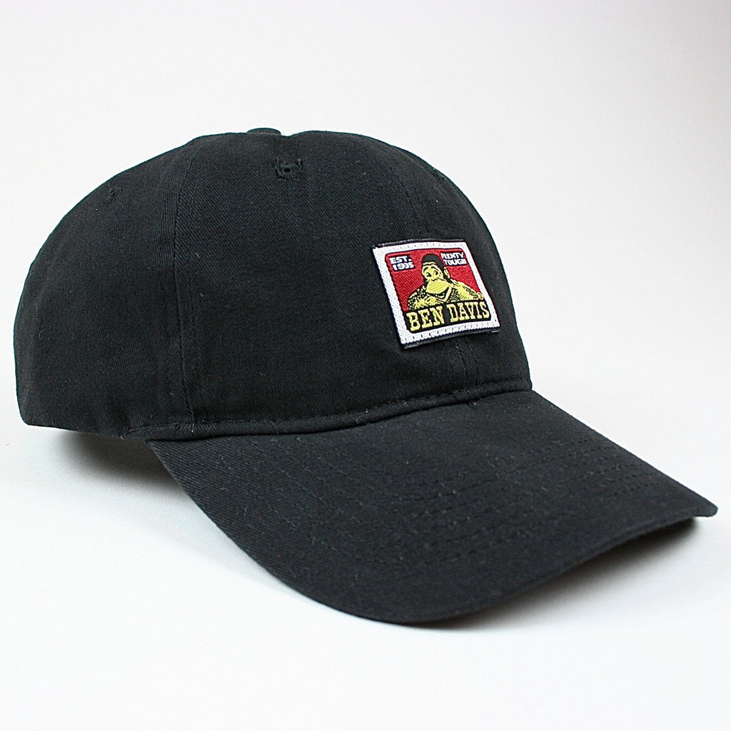 Strapback Hat -- black