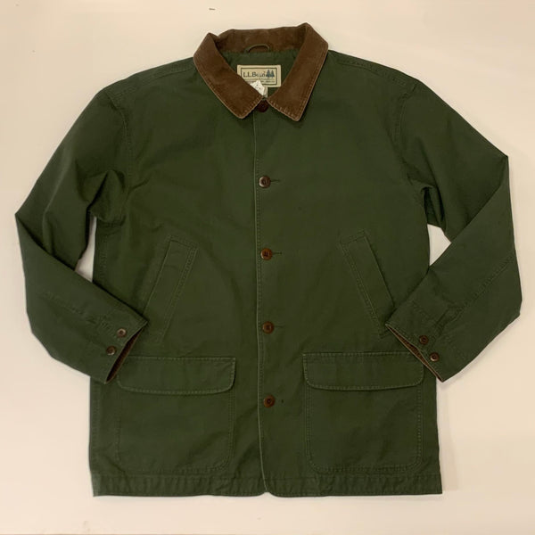 Vintage: 80s-90's L.L. Bean Flannel Lined Barn Coat