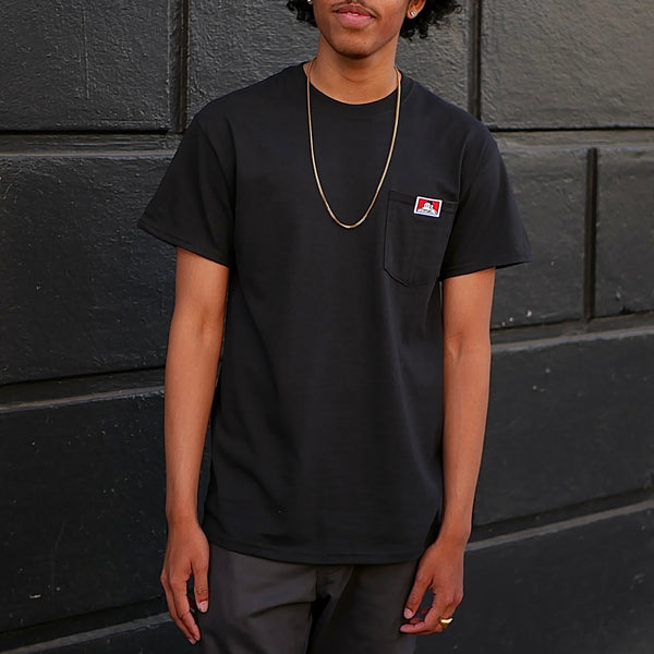 Gorilla Logo Pocket T-Shirt -- black