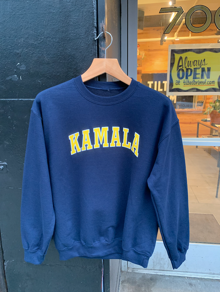 Tilted Brim for UC Hastings KAMALA Sweatshirt