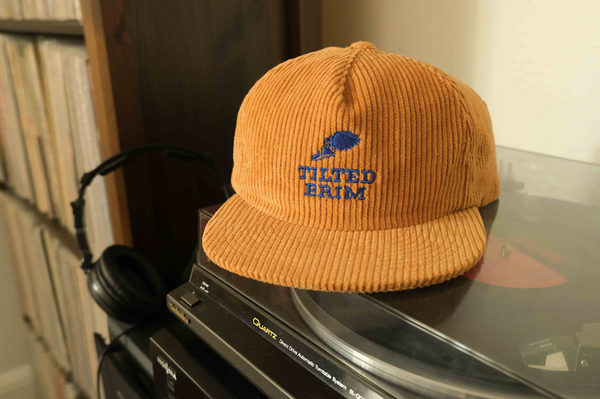 Runners Club Corduroy Strapback Hat -- ALMOND BUTTER