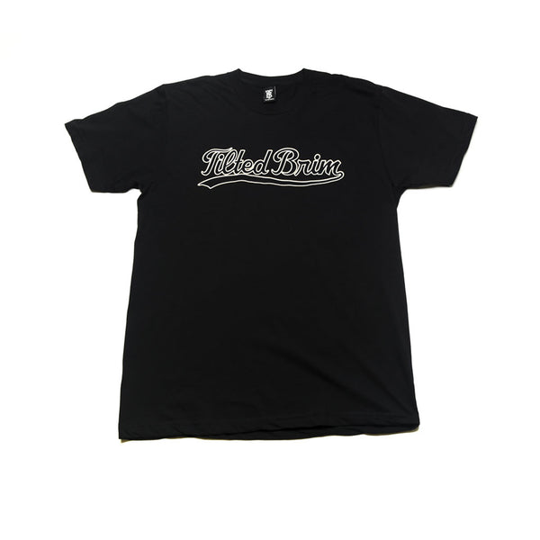 Tilted Brim T-Shirt | Black