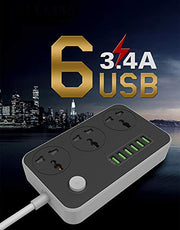 Compact Power Strip (3 Years Warranty)