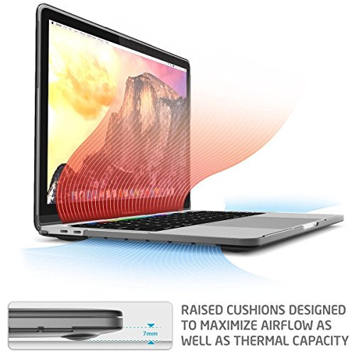 Enthopia MacBook Case Compatible with MacBook Pro 13 inch Case 2016-2020 Release A2338 M1 A2289 A2251 A2159 A1989 A1706 A1708, Plastic Hard Shell Case & Keyboard Cover Skin (Black)