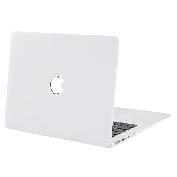 "Macbook Air 13"" (A1369/A1466) - with Keyboard Guard (White with Logo Hole)"