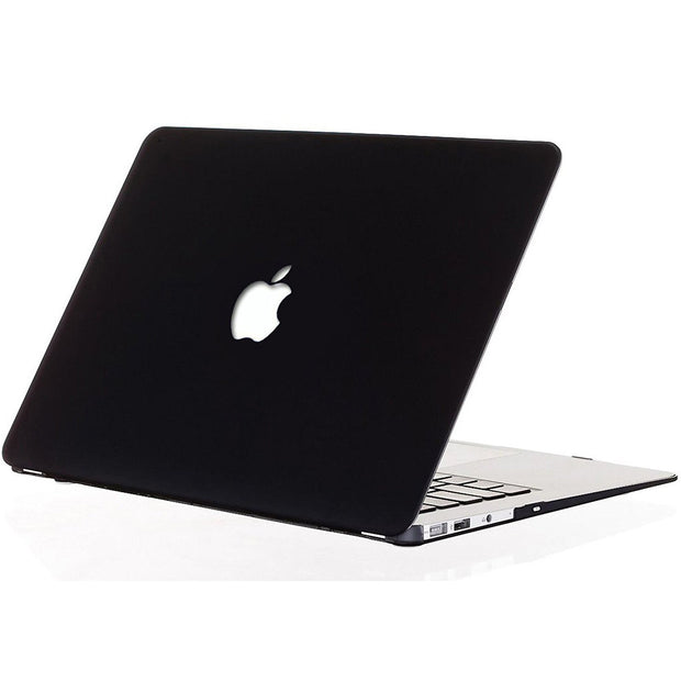 "Macbook Air 13"" (A1369/A1466) - with Keyboard Guard (Black with Logo Hole)"