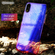 IPhone X Gradient Back Cover (Blue)
