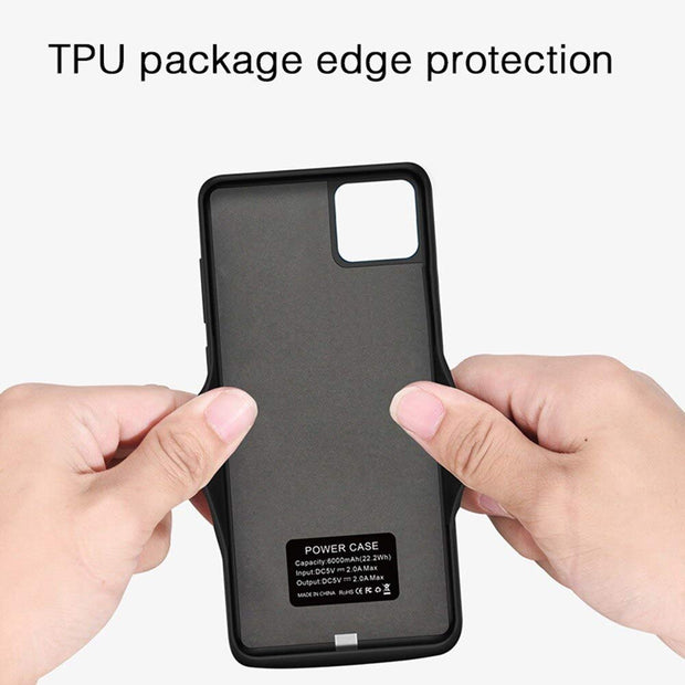 Power Bank Case for iPhone 12/12 Pro - 5000 mAh