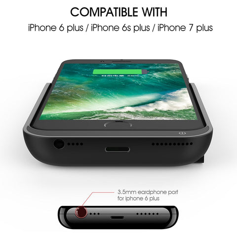Iphone Battery Case for iPhone 8 Plus / 7 Plus / 6 Plus / 6S Plus - 8000 mAh