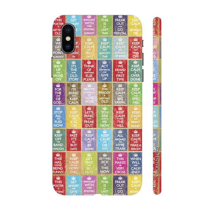 Hardshell Phone Case - Keep Calm