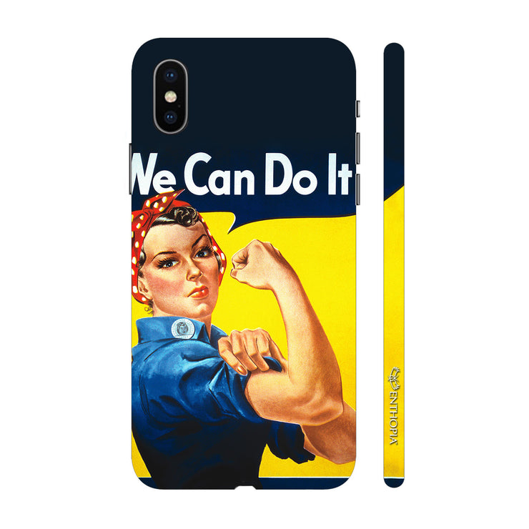 Hardshell Phone Case - We Can Do It!