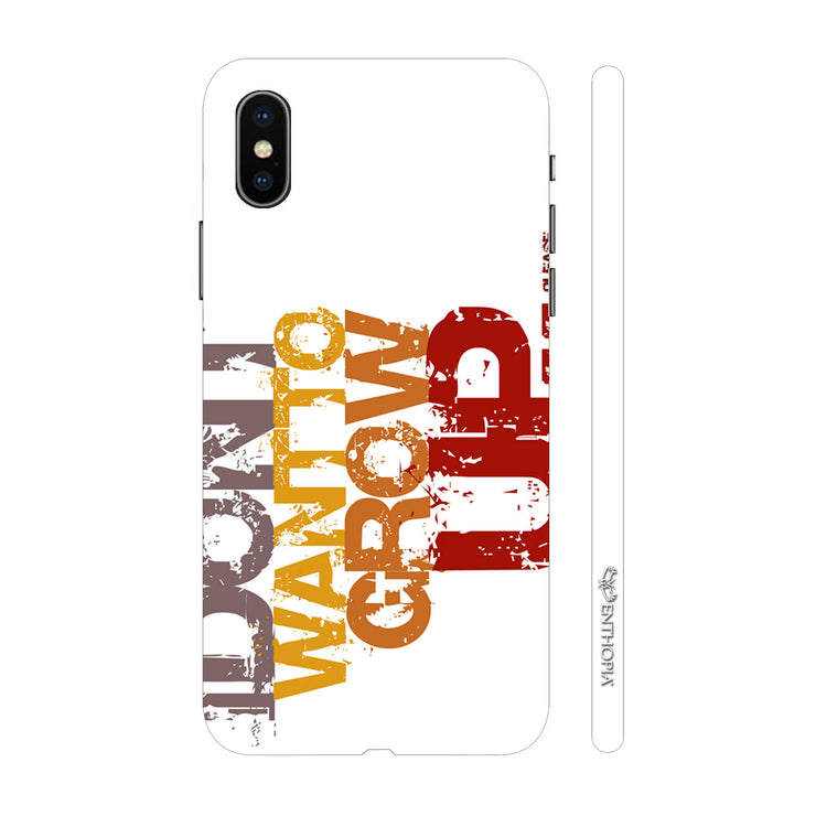 Hardshell Phone Case - DonÍt Want To Grow Up