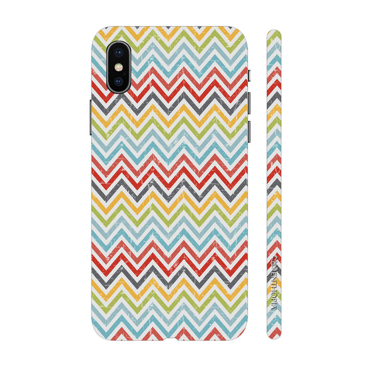 Hardshell Phone Case - Chevron Bow