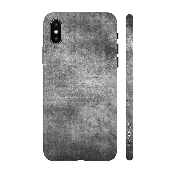 Hardshell Phone Case - Charcoal Grunge