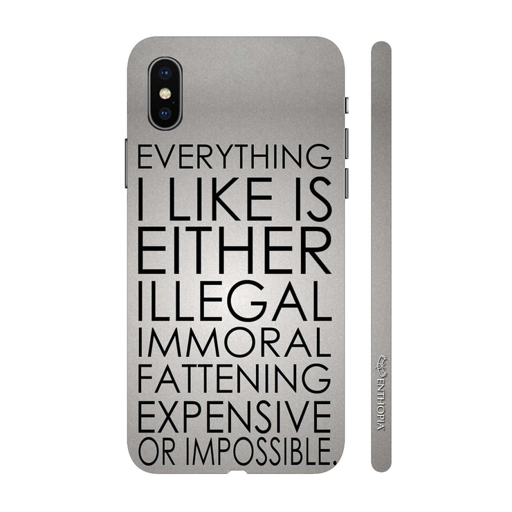 Hardshell Phone Case - Like The Immoral