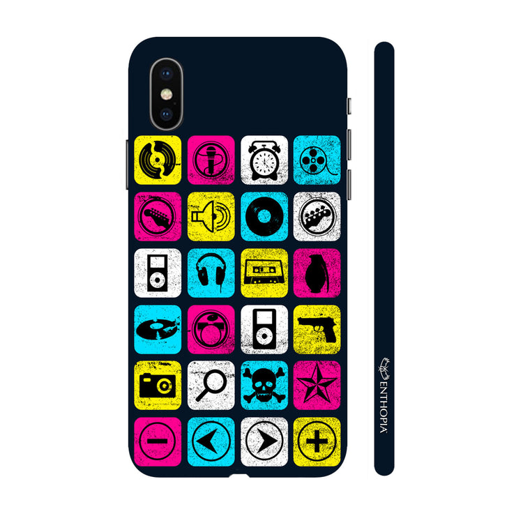 Hardshell Phone Case - Music Checkers