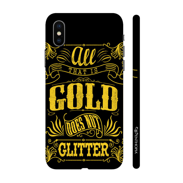 Hardshell Phone Case - Gold does not glitter