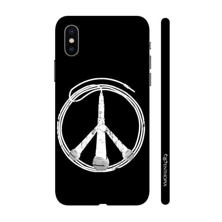Hardshell Phone Case - Peace is Music