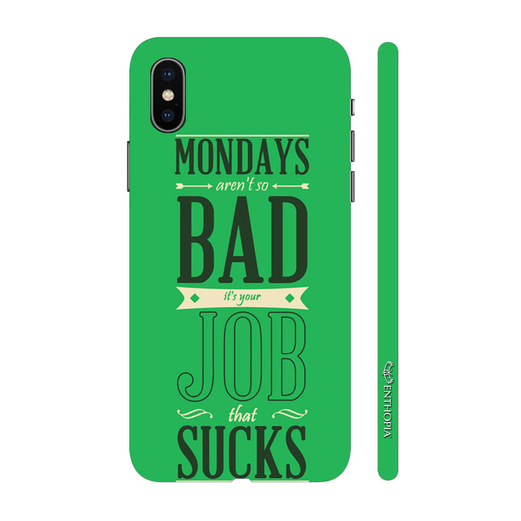 Hardshell Phone Case - Monday Not Bad